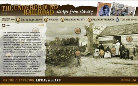 The Underground Railroad: Escape From Slavery Student Activity | Scholastic.com