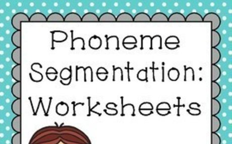 Phoneme Segmentation Worksheets