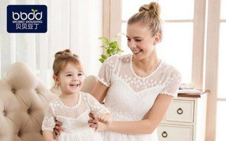 宝宝礼服新款蕾丝女童白色连衣裙童装小女孩夏装宝宝衣服公主裙子