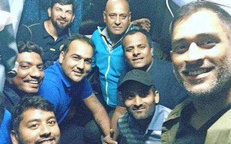 MS Dhoni travels in train after 13 years for Vijay Hazare Trophy