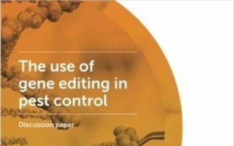 Royal Society Te Apārangi - Gene editing for pest control