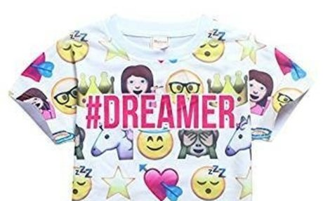 Amazon.com: DGFSTM 2017 Fashion Summer children Clothing For Kids Girl Short Sleeve Print