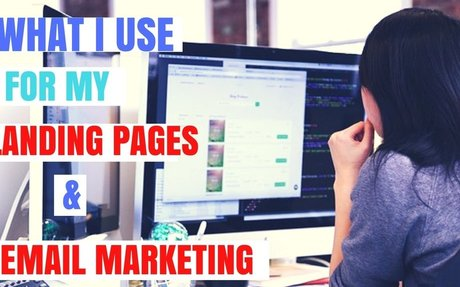 What I use for my Landing Page and Email Marketing !