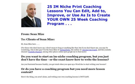 25 Coaching Lessons You Can Copy and Paste