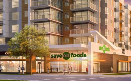 Grocery Store Retail to Anchor Massive Mixed-Use Development