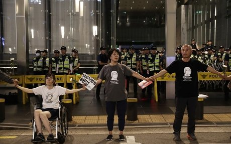 SHARPS's Sit-in Reaches 1000-Day Mark