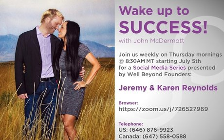 Wake Up To Success Social Media Series