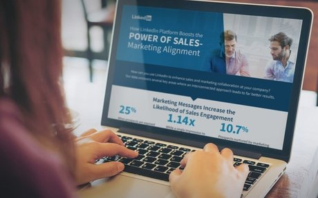 How LinkedIn Boosts the Power of Sales Marketing Alignment #SMM