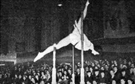 Köteles Erzsébet olimpiai bajnok tornász