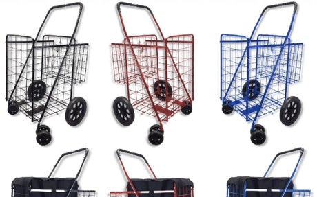 Best Heavy Duty Folding Shopping and Grocery Carts on Wheels- Reviews (with image) · Heavy