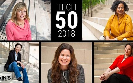 Meet the Crain's Tech 50 of 2018