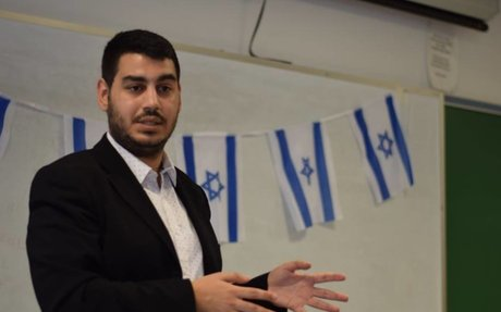 Arab man joins reservists battling anti-Israeli activism on US campuses
