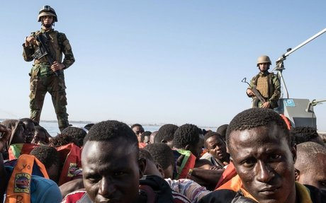 Libyan Coastguard Apprehends Refugees