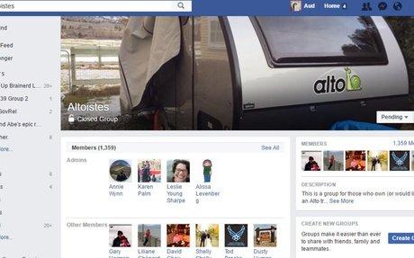 Facebook Altoistes