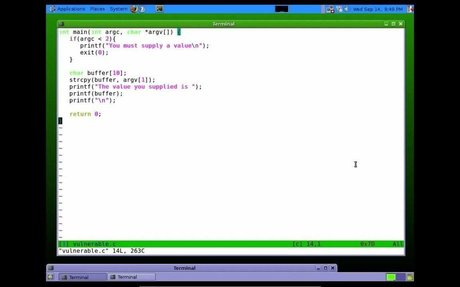 Buffer Overflow Tutorial - Part 1
