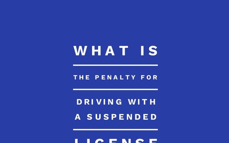 What is the Penalty for Driving with a Suspended License in Maryland?