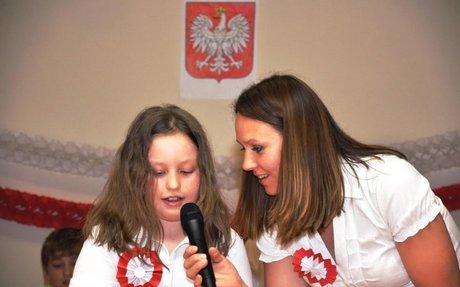 Le feste biancorosse  dei bambini italo-polacchi