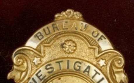 Bureau of Investigation Badge