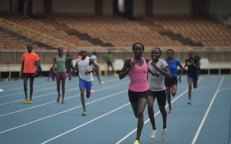 Refugee team competes in World Athletics Championships
