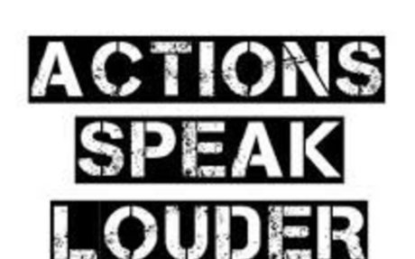 Actions speak louder than Words, Proverb Stories, Tenses, English Grammar