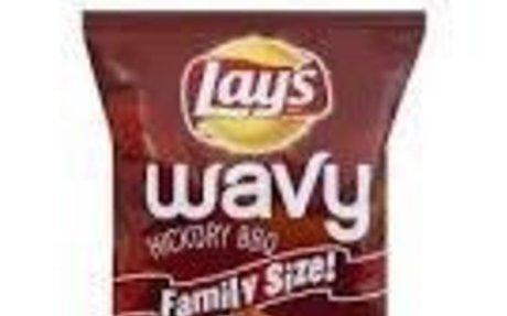 lay's wavy BBq