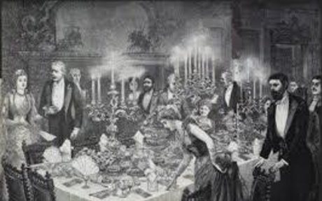 Table Manners during 19th century