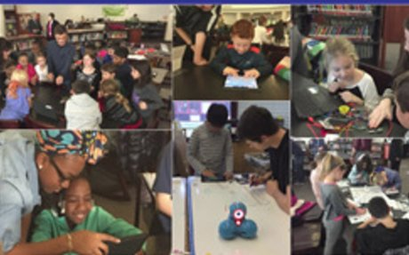 Computer Science High School Students Teach Elementary Students Programming