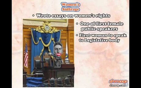 Woman's Suffrage by Shmoop