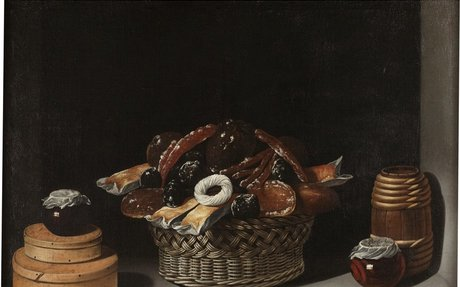 Still-Life with a Basket and Sweetmeats - The Collection