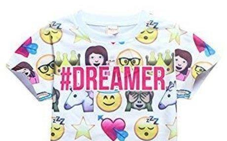 Amazon.com: DGFSTM 2017 Fashion Summer children Clothing For Kids Girl Short Sleeve Print