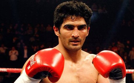Chinese boxer Zulpikar Miamiatiali refuses to bout against Indian boxer Vijender Singh