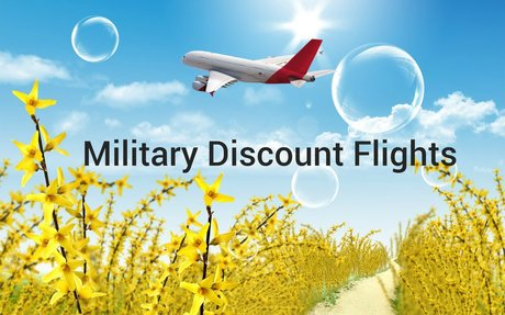 Military Discount Flights By Military Travel Source