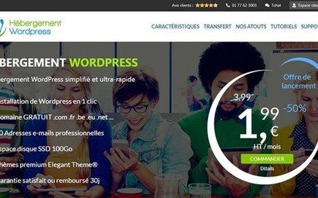 Créer un site Wordpress, clés mains hébergement, domaine, emails, ssl.