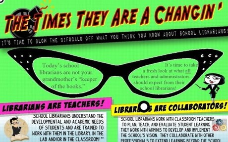 """Remix of """"Your Teacher-Librarian"""" by Jennifer Day"""