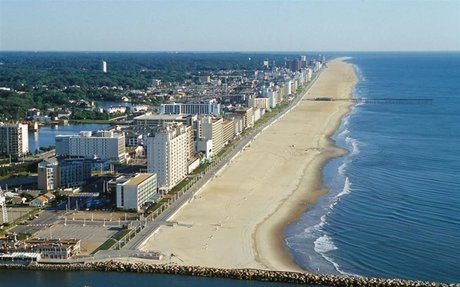 During the first 4 years of my life I lived near Virginia Beach. I also loved the beach
