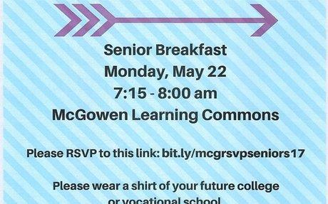 McGowan Senior Breakfast