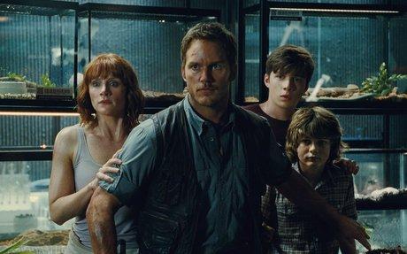 'Jurassic World' Tries To Build A Bigger Dinosaur And A Bigger Movie