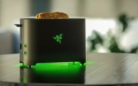 Gaming company Razer is making a toaster... because fans want one - Liliputing