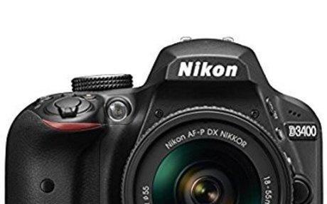 Buy Nikon D3400 24.2 MP Digital SLR Camera (Black) + AF-P DX Nikkor 18-55mm f/3.5-5.6G VR
