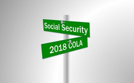 Social Security: Cost of Living Adjustment increases 2.0% in 2018