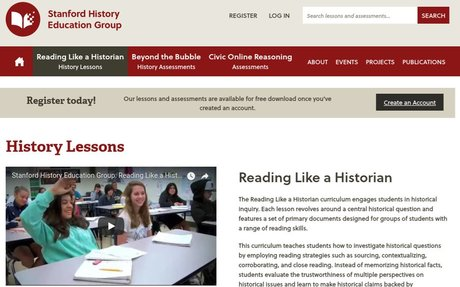 History Lessons   Stanford History Education Group