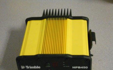 Trimble HPB450 radio - Unable to connect to base radio