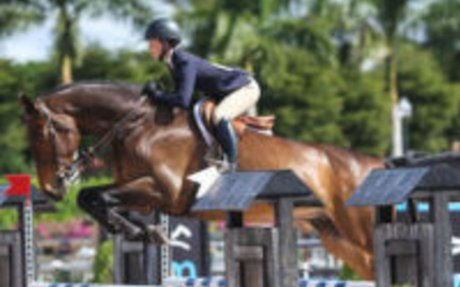 Equitation: Daisy Farish Shines Aboard Braavos in USEF Talent Search 2* at WEF