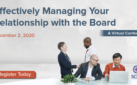 Effectively Managing Your Relationship with the Board