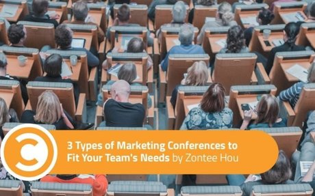 3 Types of Marketing Conferences to Fit Your Team's Needs