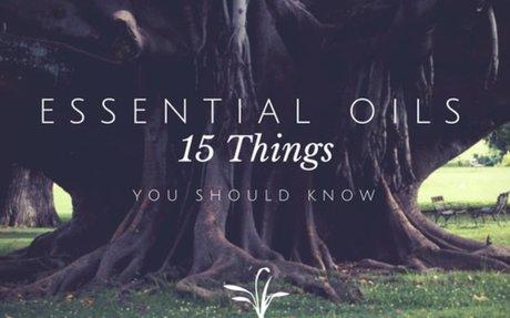 Essentials of Essential Oils