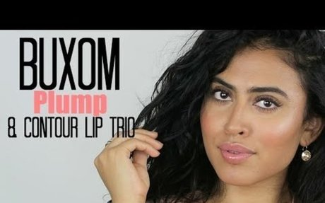 Buxom Plump and Contour Lip Trio:Swatches/Demonstration