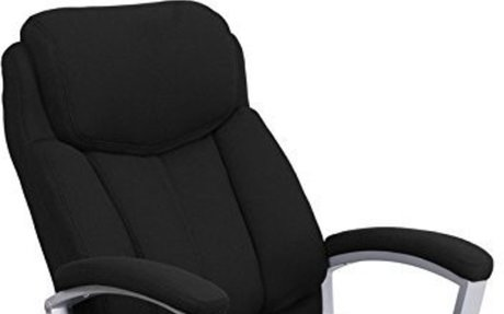 500 lb Capacity Fabric Executive Office chair Review - Best Heavy Duty Stuff