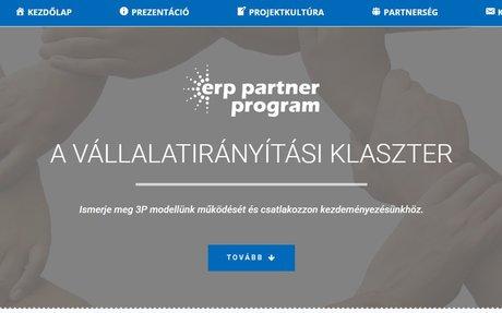 ERP Partner - weboldalkészítés