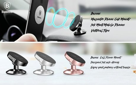 Amazon.com: Magnetic Phone Holder for Car, Baseus Universal Phone Car Mount Compact for iP